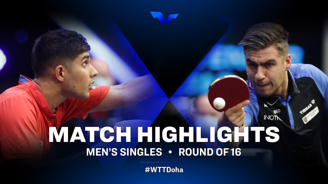 Download Kanak Jha vs Darko Jorgic | WTT Star Contender Doha 2021 | Men's Singles | Round of 16