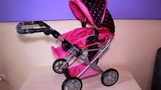 Обзор коляски для кукол Melogo 9346