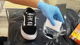 HOW TO CLEAN YOUR DIRTY VANS /NETTOYER SES VANS ET LES RENDRE COMME NEUVE!!!