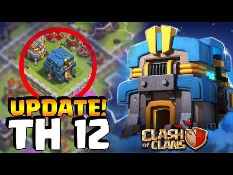 ⚠️ UPDATE TH 12 KELUAR!!! Dan INI BENTUK ASLINYA!  - Clash Of Clans