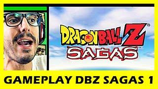 DRAGON BALL Z SAGAS - O INÍCIO (Gameplay 1)