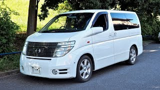 2003 Nissan Elgrand (Canada Import) Japan Auction Purchase Review