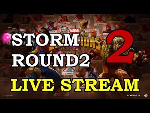 Storm Round 2 - Part 2 | Marvel Contest of Champions Live Stream