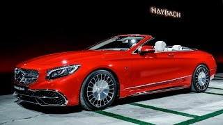 2017 MAYBACH S 650 Cabriolet - DESIGN(, 2016-11-19T11:15:36.000Z)