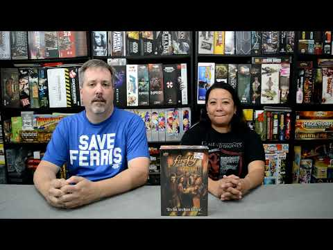 Firefly Shiny Dice by Upper Deck Unboxing |