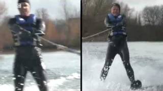 Water-skiing - Chris Evans Breakfast Show -  Sporting Challenge - BBC Radio 2