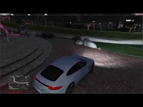 GTA 5 - Testing the beta of ''the high life map'''' at Rockford Hills/Beverly Hills!