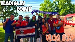 Vlog ( часть 39 ): Открытие FIFA 2018 в России, игры с Барсом, дача, поездка на Кривушу...