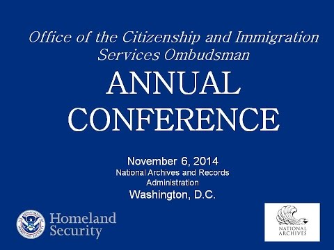 OFFICE OF THE CITIZENSHIP AND IMMIGRATION SERVICES OMBUDSMAN  FOURTH ANNUAL CONFERENCE