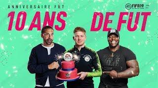 FUT 19 - Anniversaire avec Kevin De Bruyne, Rio Ferdinand...