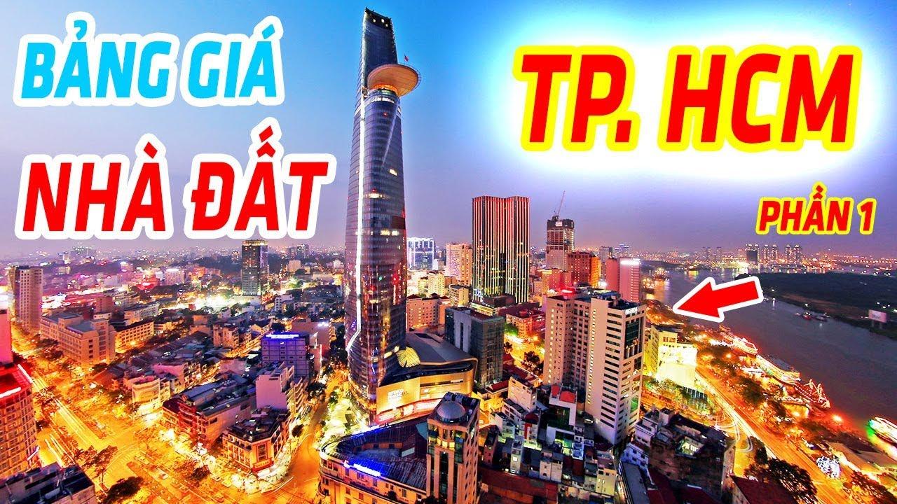 BẢNG GIÁ BẤT ĐỘNG SẢN TP HỒ CHÍ MINH | GIÁ ĐẤT CÁC QUẬN TP HCM NĂM 2019 - Phần 1
