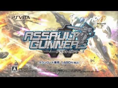 Assault Gunners - Gameplay JP - PS Vita