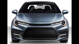 Toyota Corolla sedan 2020.  Готова к битве с Хондой Сивик
