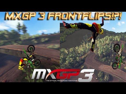MXGP 3 Frontflips! | MXGP 3 Freestyle?  Breaking The Physics! | MXGP 3 Gameplay