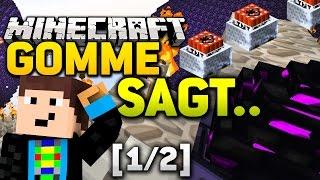 BESTRAFUNGS-ARENA! - Minecraft GOMME SAGT [1/2] - Spielmodus in Minecraft l GommeHD