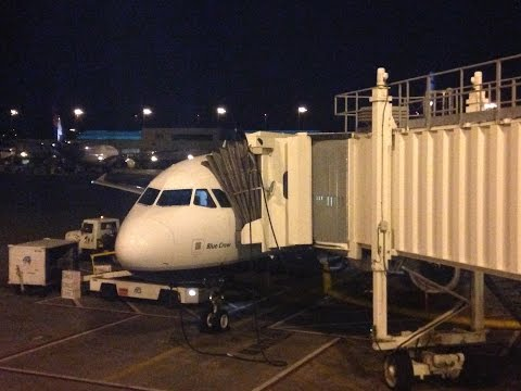 JetBlue A320 Flight PDX-BOS [SURVIVING THE RED-EYE]