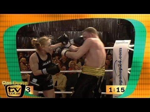Raab vs Halmich TV total  TV total