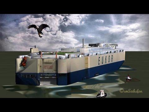 Fußball-Fieber im Emder Hafen soccer fever Emden Port football Fantasie CGI Animation