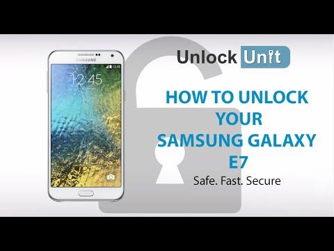 UNLOCK Samsung Galaxy E7 - HOW TO UNLOCK YOUR Samsung Galaxy E7