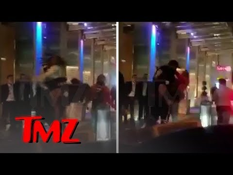 Migos' Quavo and Offset Tried Jumping a Guy Twice Their Size, Failed Miserably | TMZ