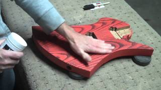 How To Apply A Water-Based Finish On An Elecrtic Guitar Body Part 4