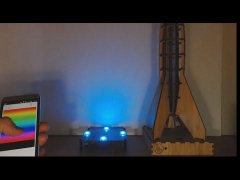 Zifnu Rocket Kit #1 -  ESP8266 Daughter Board Prototype