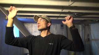 How to Hang Ceiling Drywall by Yourself