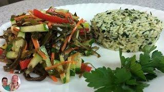 Витаминный Ужин за 20 мин! Салат из морской капусты!