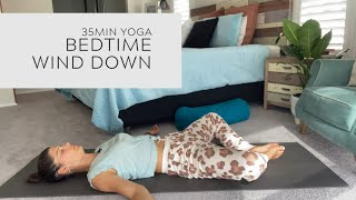 35min | Bedtime Yoga Wind down | Sleep like a baby