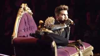Queen + Adam Lambert KILLER QUEEN Madison Square Garden NYC (New York)