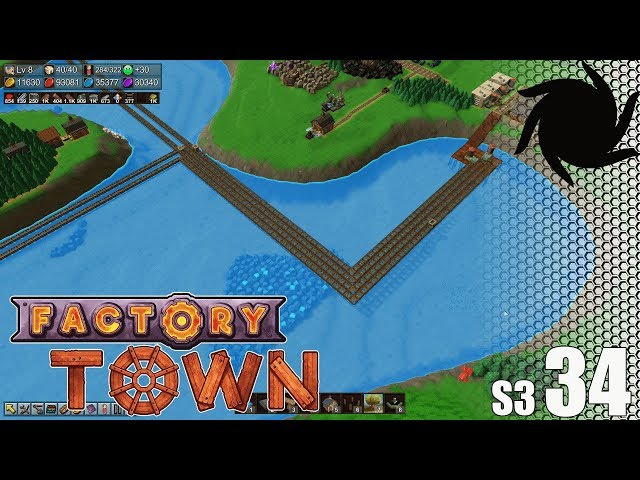 Factory Town - S03034 - Fire Crystals