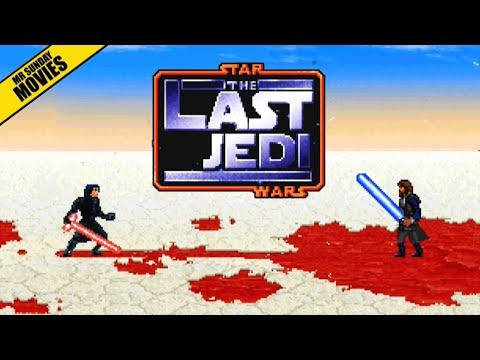LUKE SKYWALKER Vs. KYLO REN 16 Bit Scenes