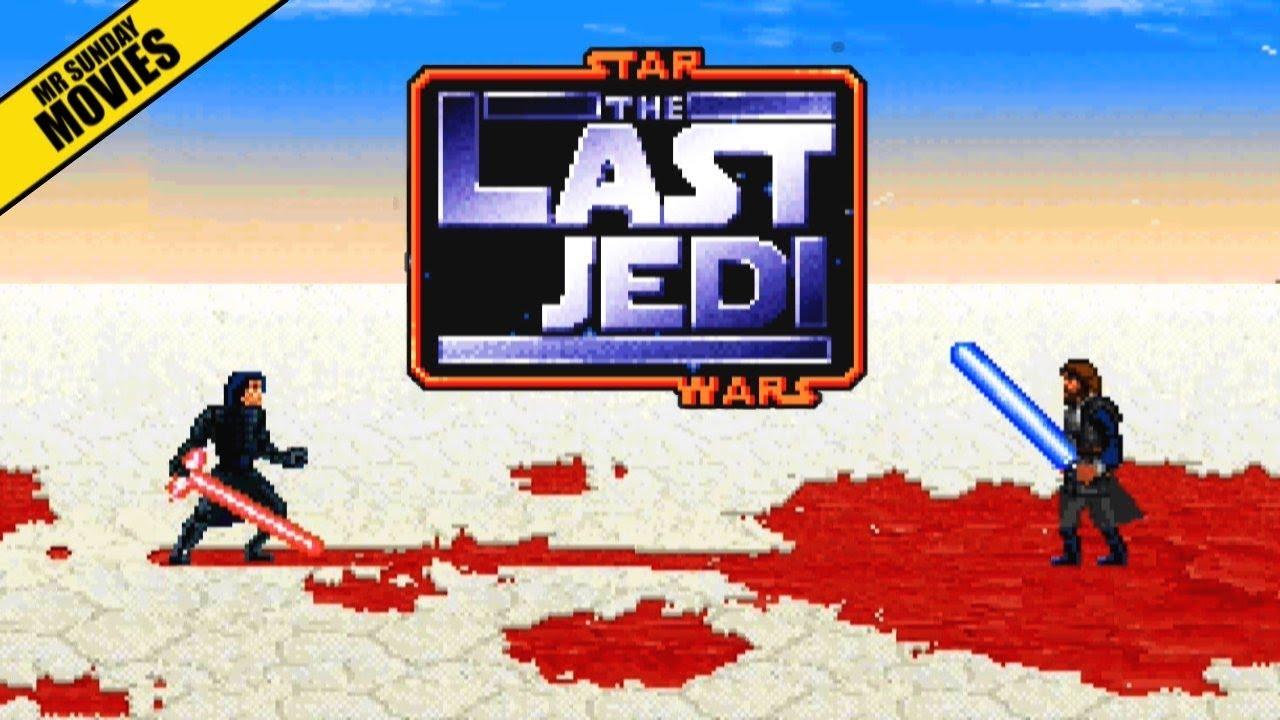 Luke Skywalker Vs. Kylo Ren 16 bits
