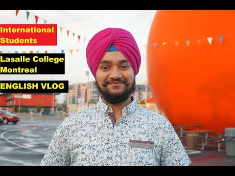 Meeting Student of Lasalle College, Montreal (English Vlog) QnA WorkPermit Courses Jobs