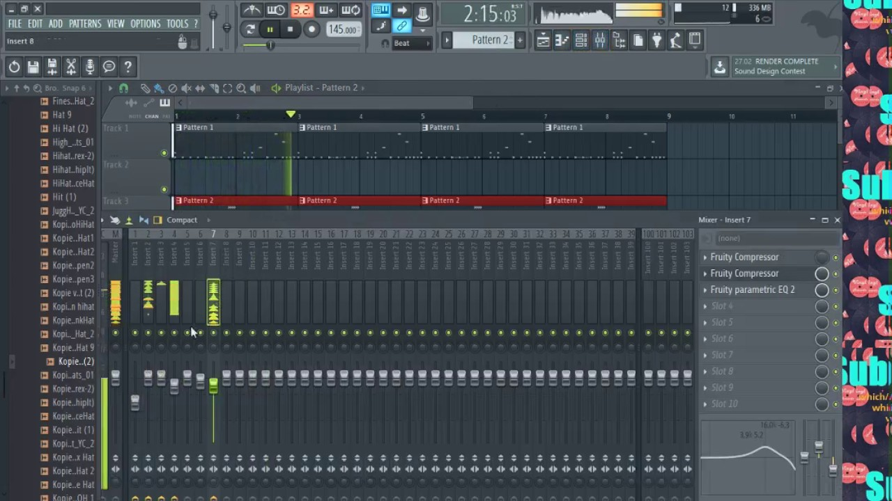 How to make perfect Hi-Hat Rolls? ( Pattern, Rolls, Mixing )