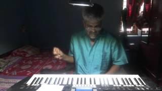 pookkal panineer, action hero biju on keyboard with karaoke.