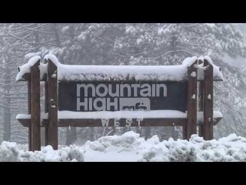 Mountain High Reopens With A Foot Of New Snow