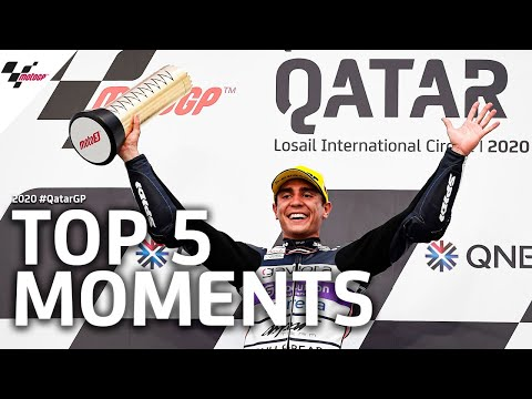 Top 5 moments of the 2020 #QatarGP
