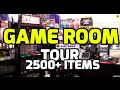 MASSIVE Game Room Tour (HD 2012) - 2500 Games 1000's of items