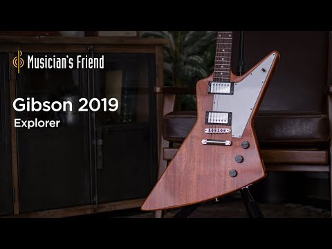 Gibson 2019 Explorer Electric Guitar Demo