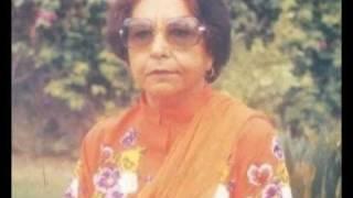 Malika Pukhraj - Tere Ishq Ki Inteha Chahata Hoon - Geet/Ghazal