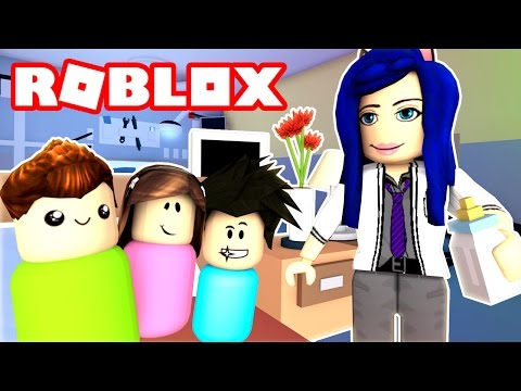 I SAVED THESE BABIES LIVES!! THE DOCTOR IS IN TOWN! (Roblox Roleplay)