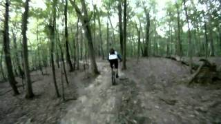 Chubb Trail MO Patrick on new Banshee Mountain Bike GoPro