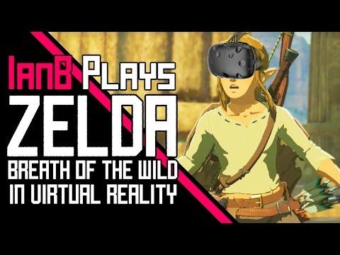 Zelda: Breath of the Wild In VR w/HTC Vive