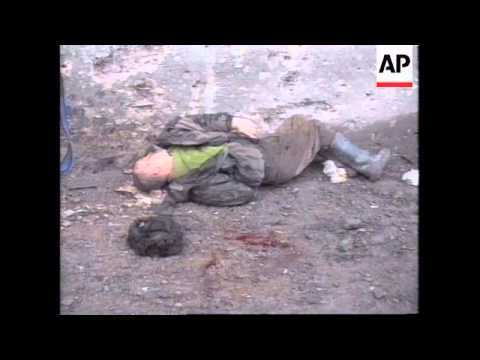 Another Day Of Heavy Fighting Russia: Chechnya: Grozny - 199