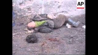 Another Day Of Heavy Fighting Russia: Chechnya: Grozny - 1995