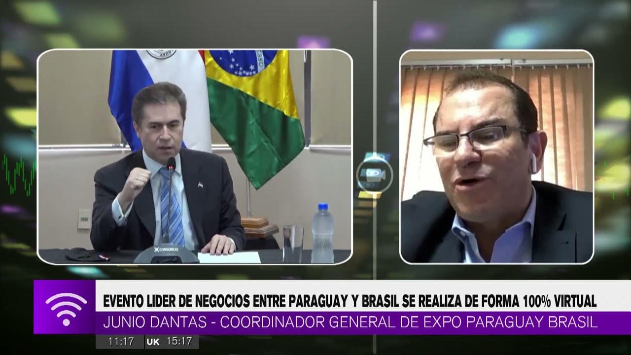 Evento lider de negocios entre Paraguay y Brasil se realiza de forma 100% virtual