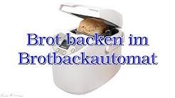 Brot backen im Brotbackautomat