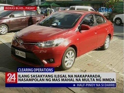 Ilang sasakyang ilegal na nakaparada, nasampolan ng mas mahal na multa ng MMDA