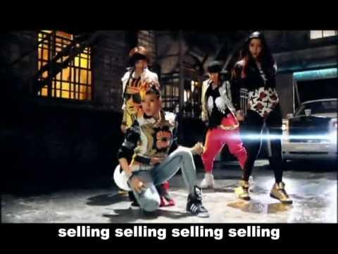 2NE1 - Fire with English lyrics (Street Ver. MV)